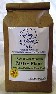 Pastry Flour, soft white winter wheat